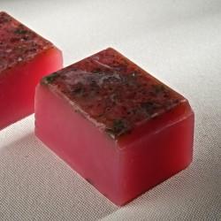 捷克國寶菠家玫瑰小黃瓜手工皂/80g立方型(現貨)