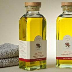 捷克國寶菠家玫瑰浴油/895ml/玻璃瓶(預購)