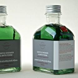 菠丹妮萊姆&錫蘭肉桂沐浴泡澡乳/195ml/玻璃瓶(預購)