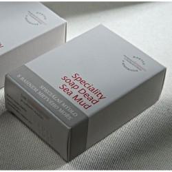 捷克國寶菠家乳油木果死海泥手工皂/75g/橢圓型(現貨)