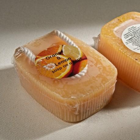捷克國寶菠家柳橙檸檬手工皂/190g/懸掛式(預購)