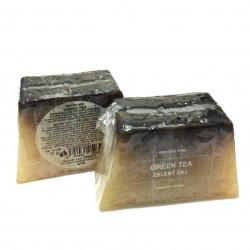 捷克國寶菠家綠茶手工皂/125g/梯型(預購)