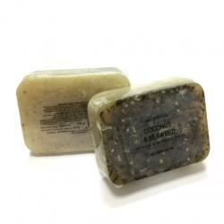 捷克國寶菠家椰子海藻手工皂/105g/8x6方形(預購)