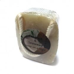 捷克國寶菠家椰子海藻手工皂/190g/懸掛式(預購)