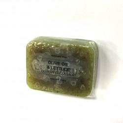 捷克國寶菠家橄欖萵苣手工皂/105g/8x6方形(預購)