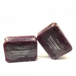 捷克國寶菠家廣藿香黑莓手工皂/105g/8x6方形(現貨+預購)